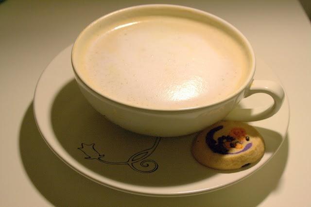 Homemade chai latte and london fog latte