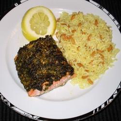 Stephan's Broiled Salmon Pesto | Recipe