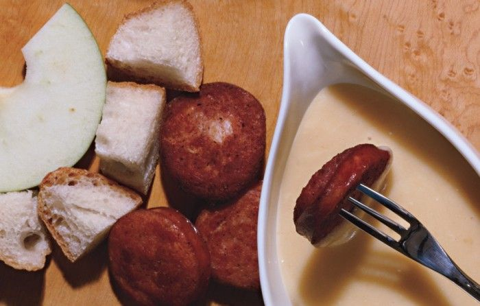 Gruyère and Cider Fondue | FOOD | Pinterest