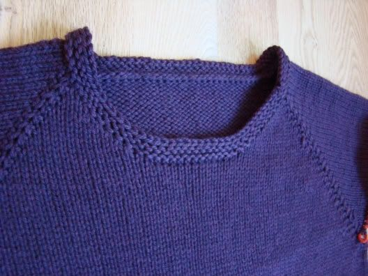 adult top down raglan sweater pattern
