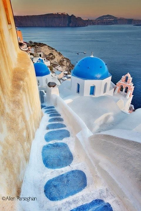 Santorini, Greece - I was there only briefly, but want to go back to see more of it's beauty.