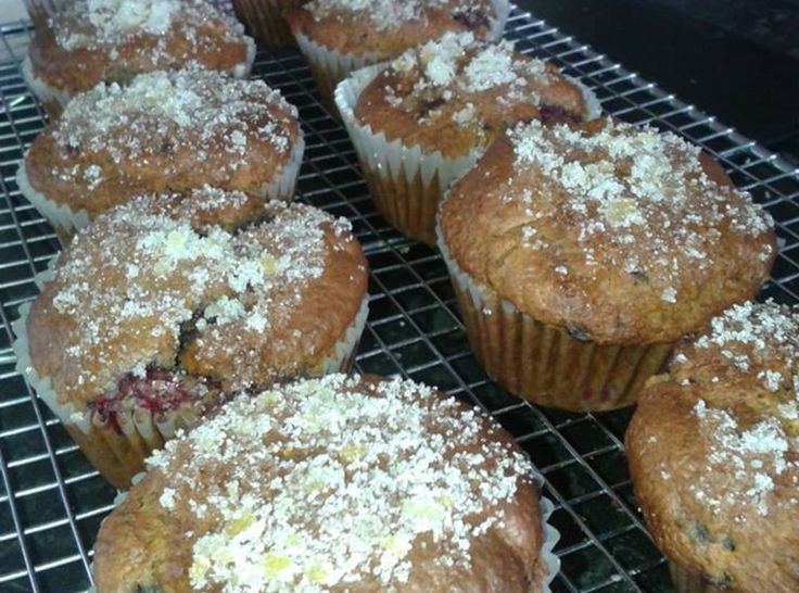 Raspberry & Lemon Muffins with zesty sugar top Recipe | Just A Pinch ...