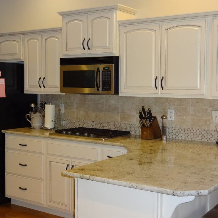 Dover White Cabinets With Brown Glazing Cool Home