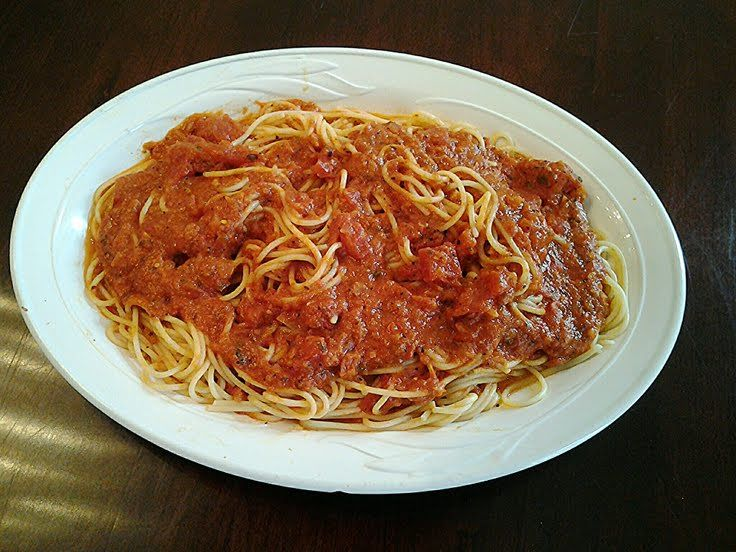 "Simple Basic Marinara Sauce! ""A quick to put together delicious ..."