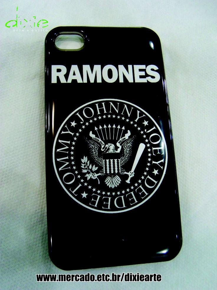 Case Iphone 4 Ramones mercado.etc.br/dixiearte