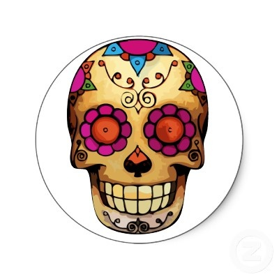 day of the dead skull - Google Search | other tattoos