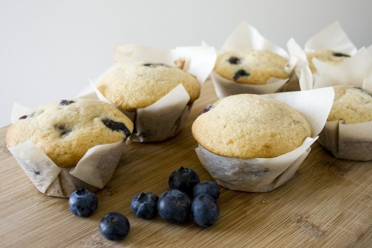 ... but good lord that looks good. Blueberry Buttermilk Muffins