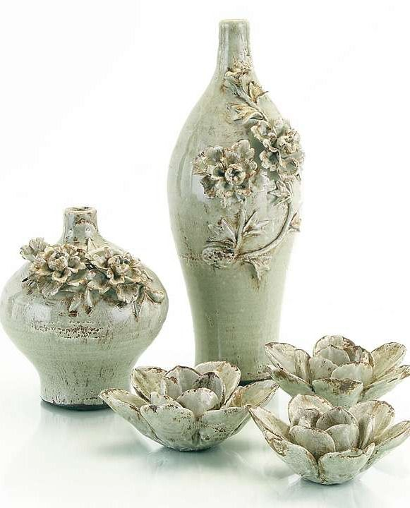These Flower Jugs create a romantic gesture on its own or filled with flowers.