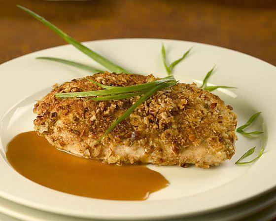 Bourbon Pecan Chicken | Yummy-ness | Pinterest