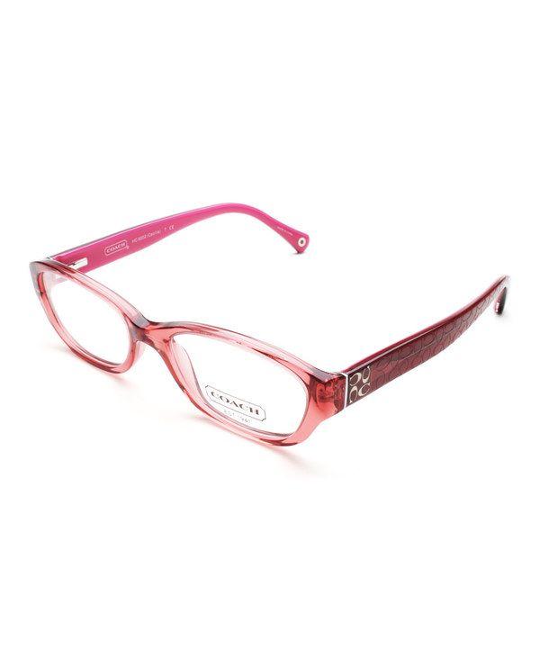 Coach Eyeglass Frames Burgundy : Coach Burgundy Cecilia Eyeglasses