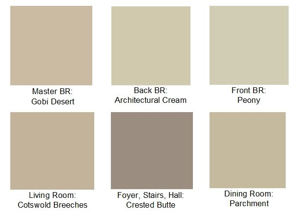 Neutral color palettes whole house for the home pinterest for Neutral paint palette for house
