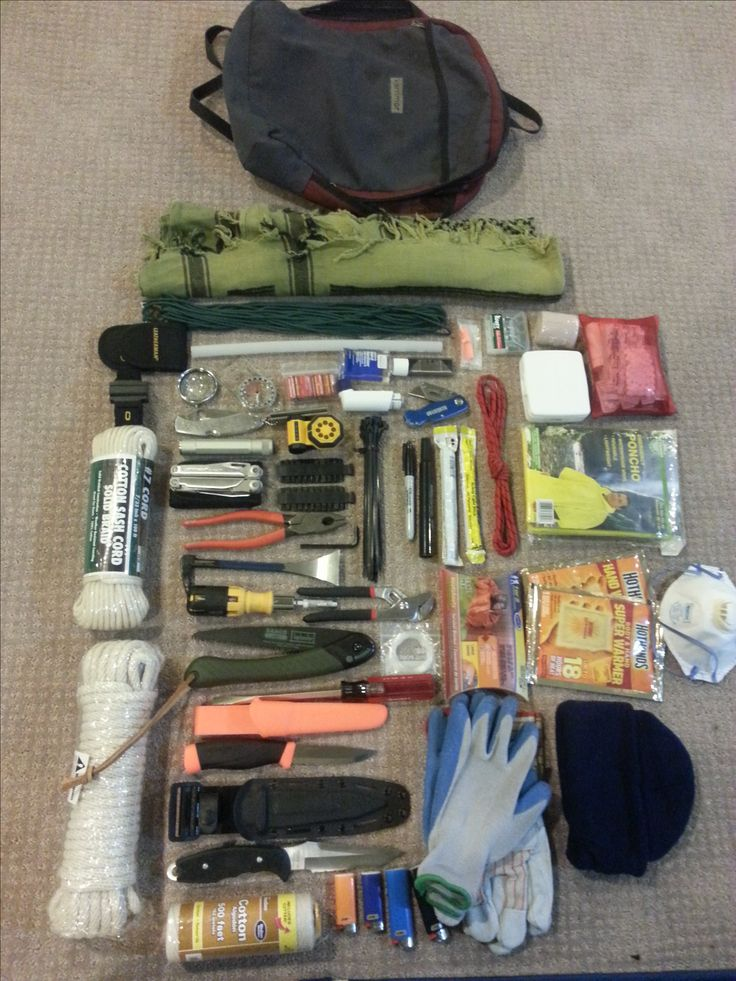 Bug Out Bag Contents Pin by K Grn on Bug Ou...