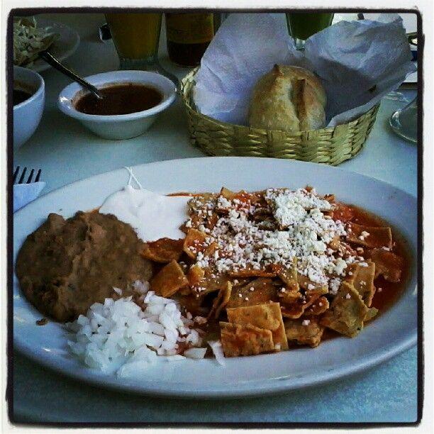 rojos recipes dishmaps chilaquiles rojos at delicias chilaquiles rojos ...
