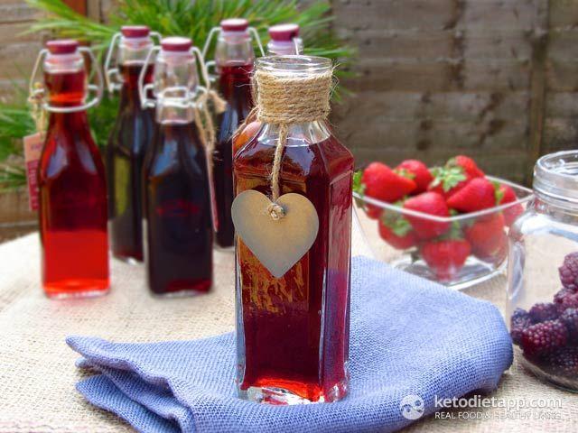 Home-made Hazelnut Extract (Hazelnut Liqueur) - Low Carb