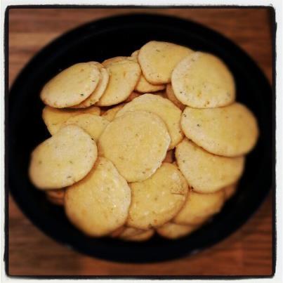 Glazed citrus oregano cookies make Mondays easier to swallow! Thanks ...