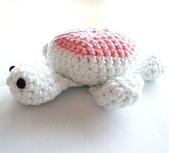 Crochet Turtle - Pink