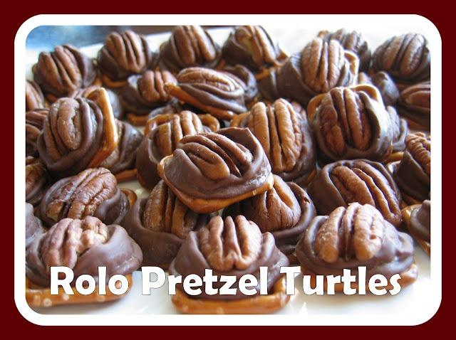 Rolo Pretzel Turtles | Desserts | Pinterest