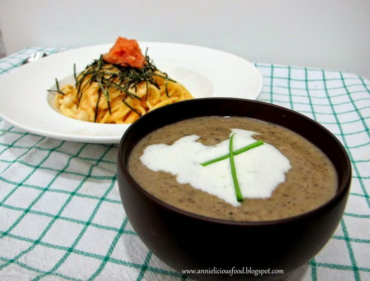 The Real Cream Of Mushrooms Soup | Annelicious