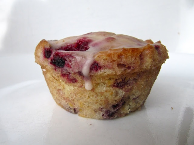 Lemon Raspberry Muffins | Breakfast | Pinterest