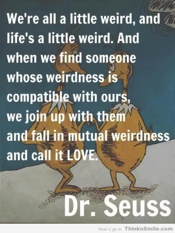 A little Dr. Seuss wisdom