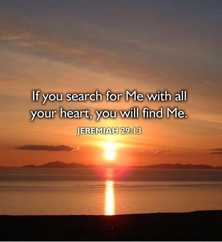 #20  JEREMIAH 29:13