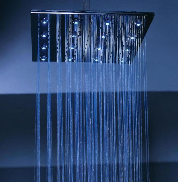 Waterfall Shower Head Future Home Pinterest