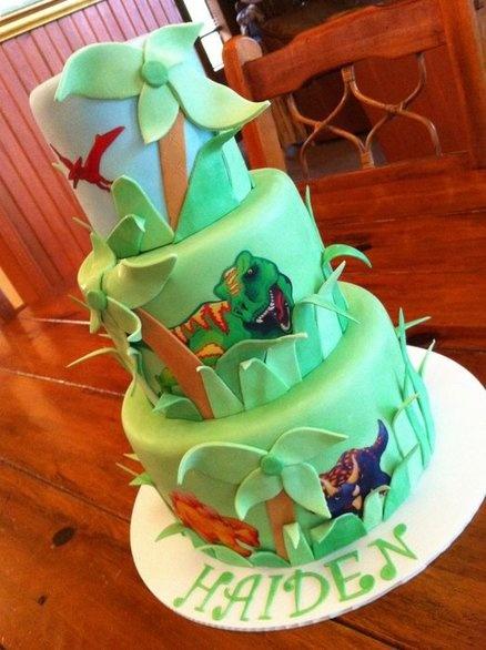 Dinosaur cake boy s cake ideas pinterest