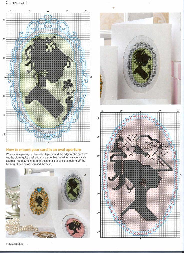 Схема для вышивки кулона 49