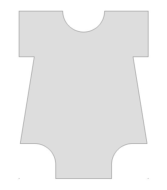 Onesie Template Pictures to Pin PinsDaddy – Onesie Template