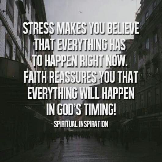 Quotes About God and Stress