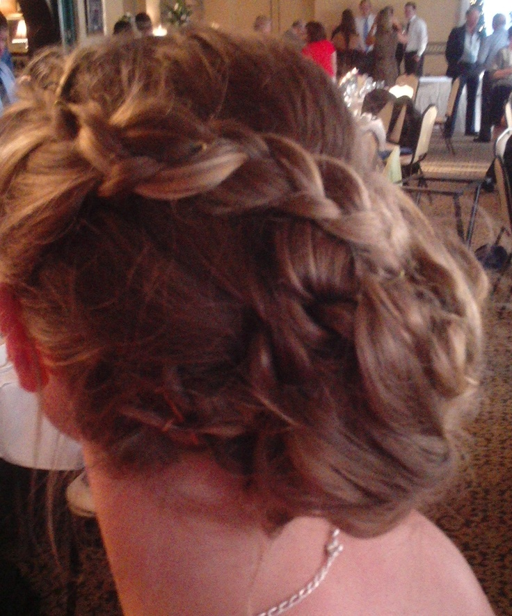 Wedding Hairstyles For Junior Bridesmaids : Jr bridesmaid hair by rochelle noone hairstyles