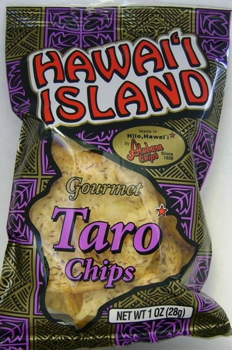 Taro Chips...much better than Poi : ) | 4 Leslie | Pinterest