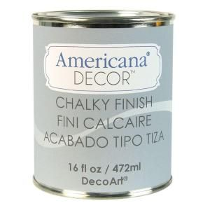 I would love to try this new furniture paint! I think this gray color is so pretty! DecoArt Americana Decor  Yesteryear Chalky Finish- at The Home Depot