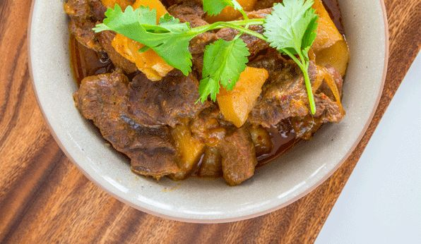 Beef Massaman curry | Food | Pinterest