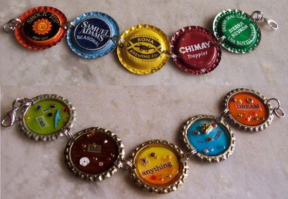 Bottle caps projects beer label bottle caps pinterest for Beer bottle cap projects