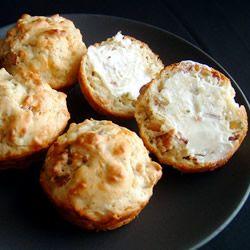 Bacon Cheddar Chive Muffins Allrecipes.com