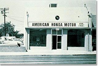 American honda motor company early headquarters for American honda motor co