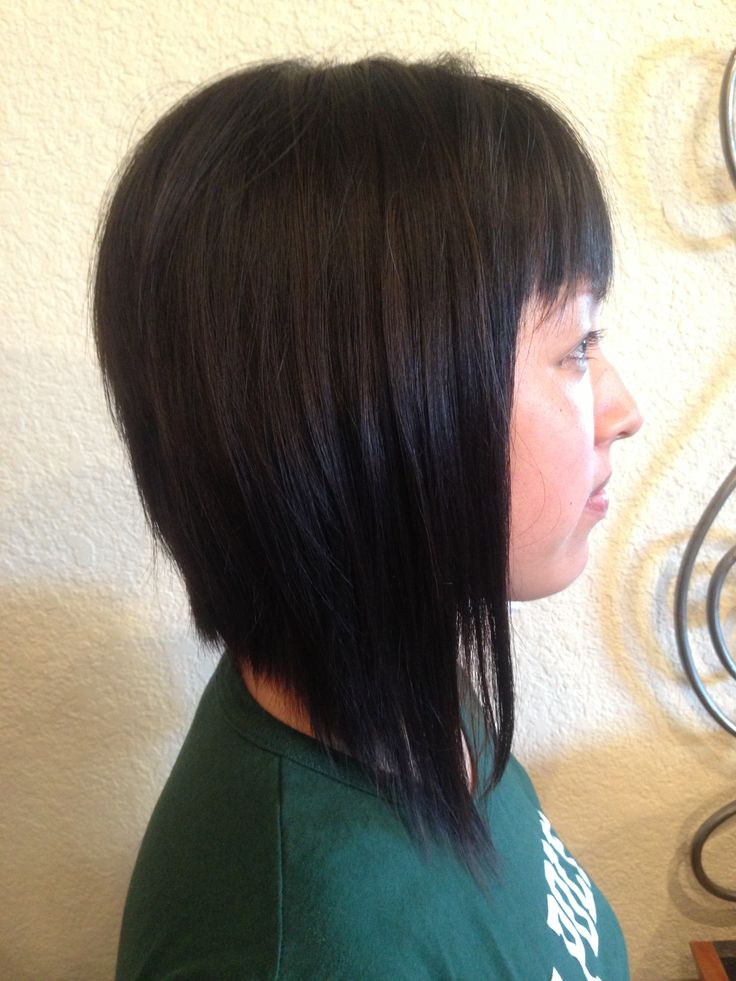 Aline Haircut With Bangs | LONG HAIRSTYLES