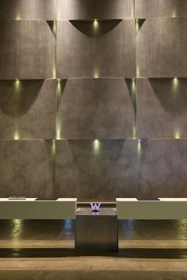 W hotel wall hotel lobby pinterest for W hotel design