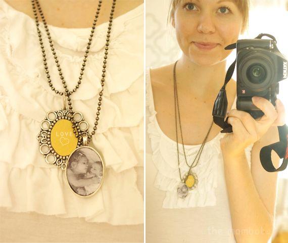 DIY pendants/lockets   TheMombot.com