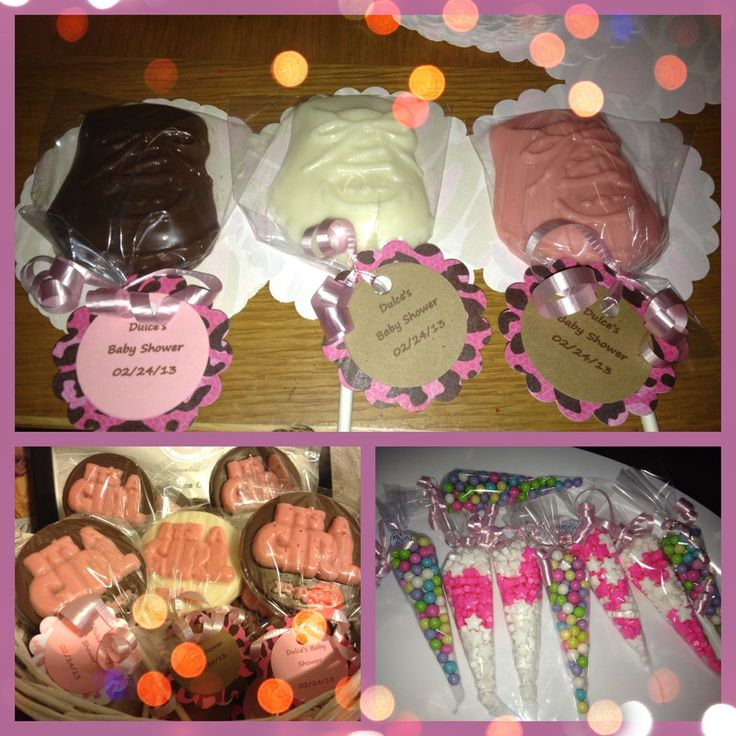It's A Girl Baby Shower Goodies