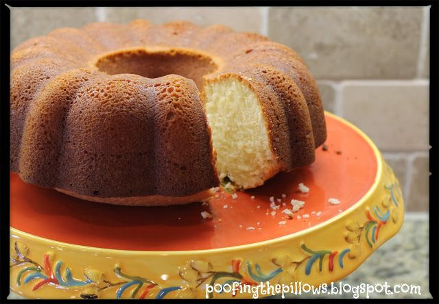 Perfect Pound Cake recipe | Desserts | Pinterest