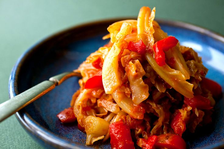 Andalusian cabbage stew recipe - Cabbage stew recipes ...