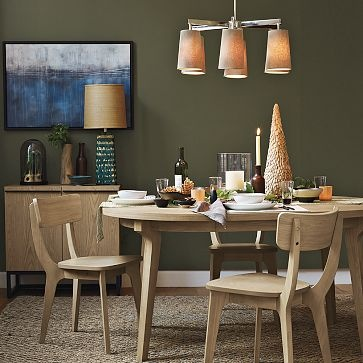 round dining room table west elm kitchen dining pinterest