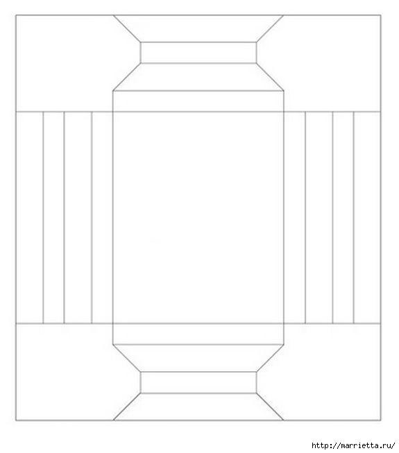 Бумажный прямоугольник своими руками 29