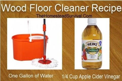 Diy Wood Floor Cleaner Recipe For The Home Pinterest