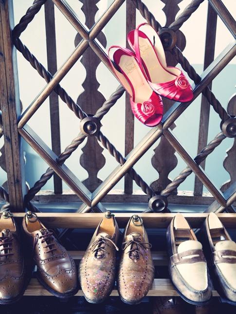 Vogue.fr - Julie Ansiau,   Chez Annabelle Dexter Jones