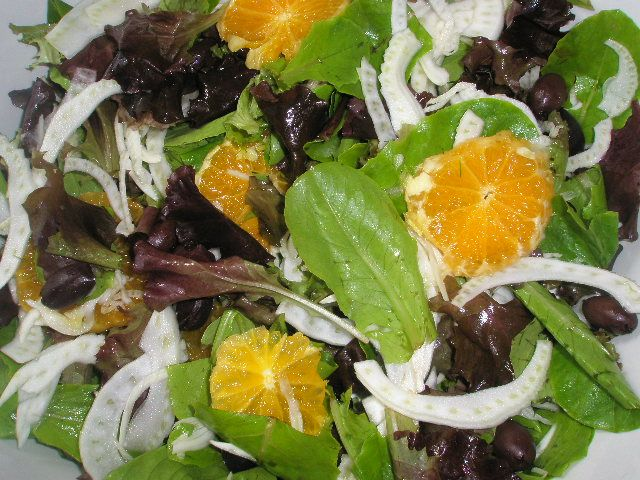Arugula, Fennel And Orange Salad Recipe — Dishmaps