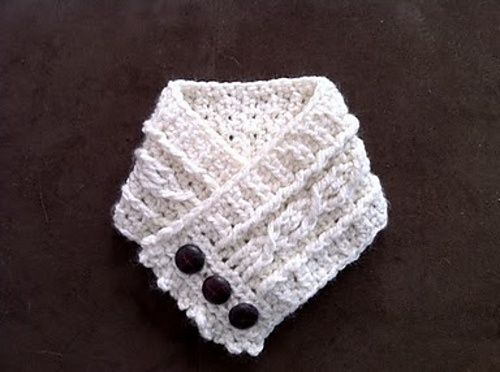 free crochet neck warmer patterns ... for a neck warmer to crochet ...