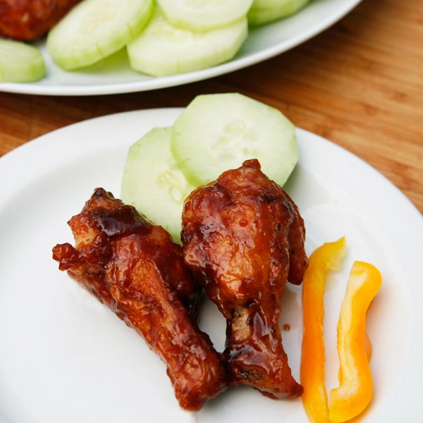 Teriyaki Barbecue Wings - Sarah's Cucina Bella